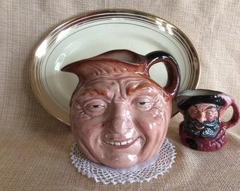 Vintage 1978 Royal Doulton John Barleycorn character pitcher Royal Doulton Toby figurine no D 5327 limited edition