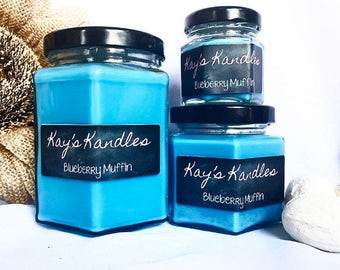 Blueberry - Pure Soy Candle Scented