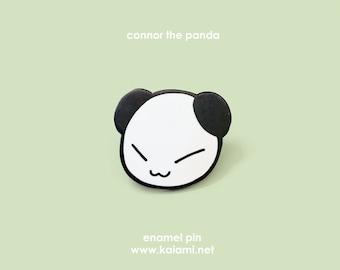 Connor the Panda Enamel Pin