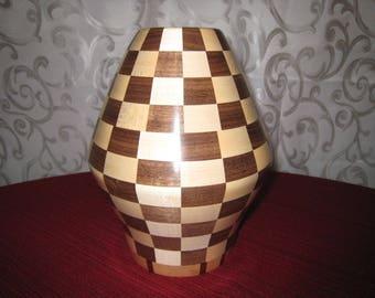 Walnut Maple Vase #2