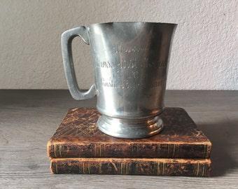 Antique trophy cup