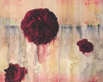 Rising Hope In Alizarin Crimson