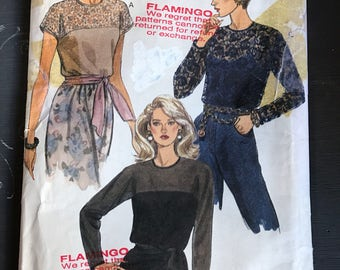 Vintage Vogue Blouse/Top Pattern 8540