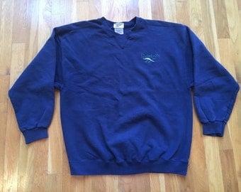 Vintage Reebok crewneck pullover sweatshirt size M