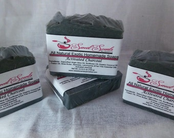 Activated Charcoal Soap (5-5.5 oz)