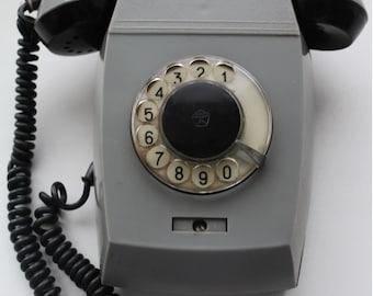 Rotary Wall Phone Etsy
