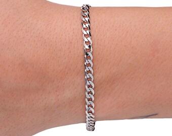 Stacking Bracelet, Layering Bracelet, Chain Bracelet, Silver Bracelet, Boho Bracelet, Under 50, Gift for Her, Mens Bracelet, Christmas Gift.