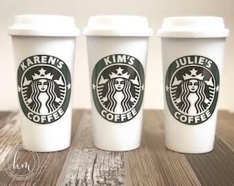 Personalized Starbucks Travel Mug