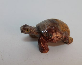 Hand made turtle from stone