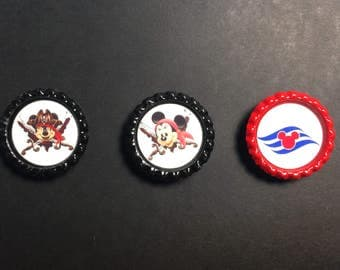 Fish Extender Gifts-FE Gift-Cuise Gift-Mickey and Minnie-FE Magnets