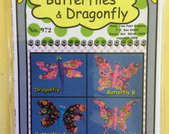 Butterflies and Dragonfly - Parlor Pets