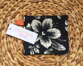 "Wallet ""Flowers & vanilla bourbon"""