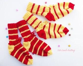 Knitted socks, hand knitted baby socks, wool socks, knitted wool socks, winter socks, hand knitted socks, home socks, knitted leg warmers