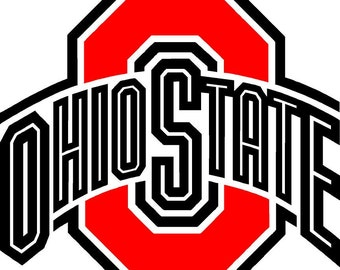 OSU  Cornhole Decal 18inch
