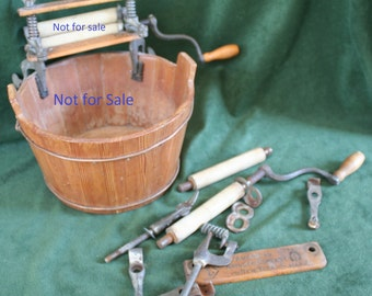 American Wringer Company No. 2 GEM; Salesman's Sample; ONLY Spare Parts for sale; Will Sell as Lot or Separately,