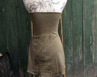 organic pixie dress / skirt size s