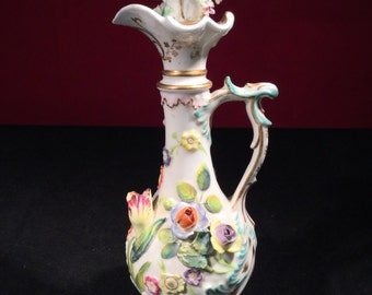 Rockingham Porcelain Ewer (Early To Mid 19th Century)