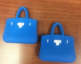 Add on! Hermes birkin mini bag designer fashion for cute bear bag charms keychsin