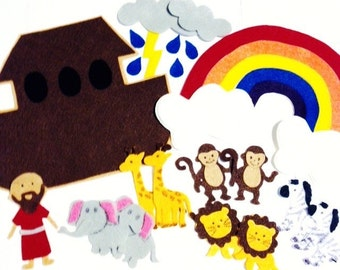 Noah's Ark Felt Bible Story**Sunday School/Homeschool**