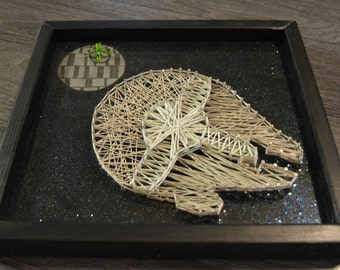 Star Wars Millenium Falcon String Art