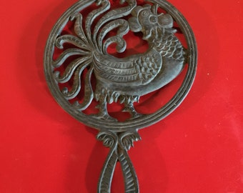 Cast Iron Rooster Etsy