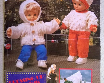 Wendy Knitting Patterns For Dolls : Doll patterns Etsy