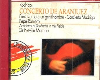 Rodrigo / Concierto De Aranjuez (CD, Comp) NM Classical Guitar - Philips.