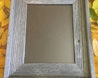 8 x 10 inch Barn Wood Picture Frame