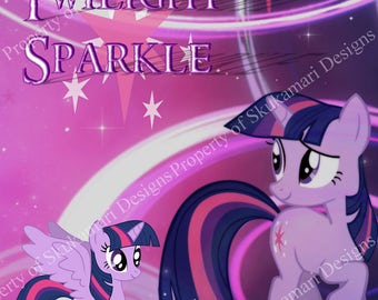 My Little Pony - Twilight Sparkle 8x10 Print