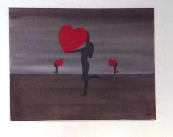 Raising Hope 14X18 Painting