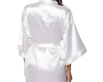 BRIDE Crystal Kimono Style Robe