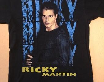 Ricky Martin original tour shirt