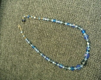 A Pretty Sparkly Blue Necklace