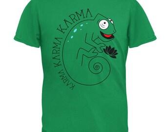 Karma Karma Karma Chameleon Mens T Shirt (More Colors Available)