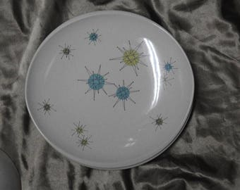wonderful rare franciscan china starburst dinner plate five for sale sold per plate