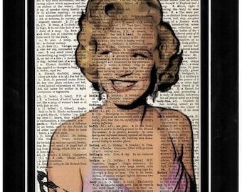 Mariyln Monroe  art print 260