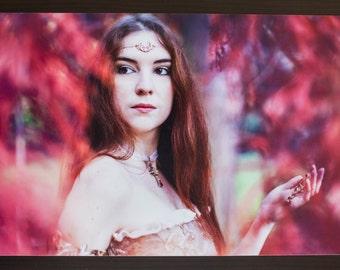 "Photography fantasy medieval ""Autumn Fantasy"" - Format A4 20x30cms - Namidael photographs"