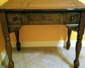 Vintage Sewing Machine Table Estate Sale Furniture