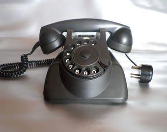 Vintage bakelite telephone HEEMAF for PTT * bakelite telephone * telefon * téléphone, 1950s