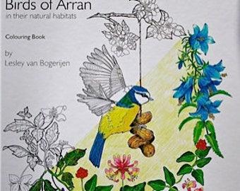 Birds of Arran Colouring Book