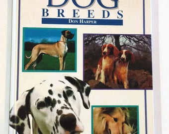 An Identification Guide to Dog Breeds by Don Harper  Hardcover  Educational/Reference