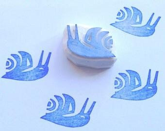 Snail mail stamp, snail stamp, snail rubber stamp, craft supplies, garden stamp, stamping, scrapbooking, diy, card making, wrapping, pen pal