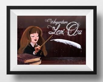 Granger poster - Digital Illustration printed on A4 photo paper