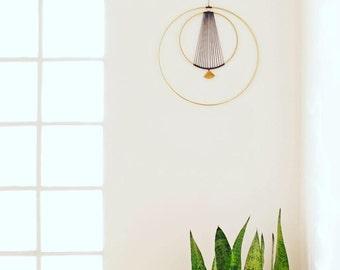 Elegant Modern brass Wall Hanging