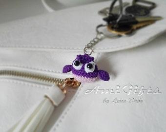 Owl Amigurumi Keychains
