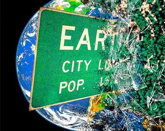Earth City Limits, Austin Art, Art Photography, Art Photograph
