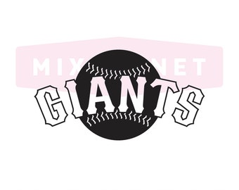 San Francisco Giants Cut File, San Francisco Giants Svg Files, San Francisco Giants SVG Cutting, SF Giant Cuttable SVG File Instant Download
