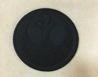 Star Wars Rebels Logo Iron On Patch #Black