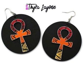 Ankh Ankh earrings Large earrings - earrings