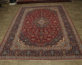 Awesome Rare Traditional Dark Red Ardakan Persian Rug Oriental Area Carpet 10X13